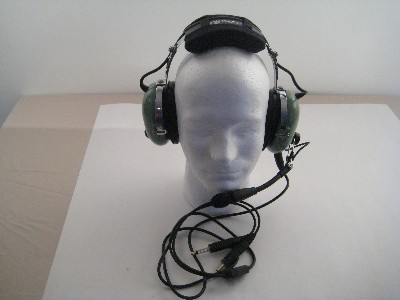 David Clark H10-30 Deluxe Aviation Headset with Volume Control Refurbished